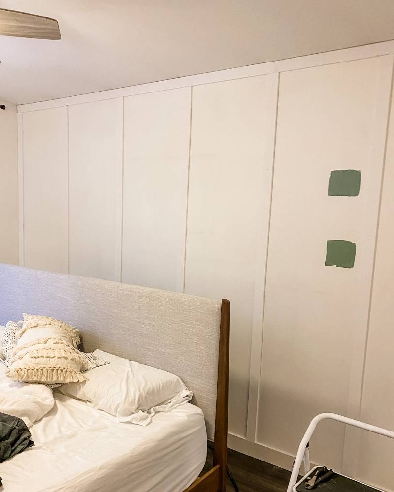 Before Photo Bedroom DIY Board and Batton Upgrade The Watermark Shop 2