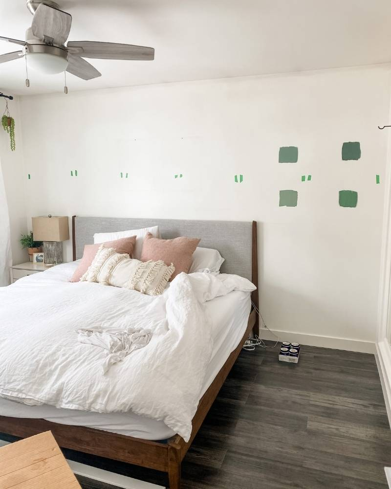 Before Photo Bedroom DIY Board and Batton Upgrade The Watermark Shop 3