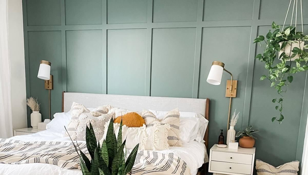 Board and Batten Bedroom Wall Tutorial (A DIY Master Upgrade) Watermark Shop Blog