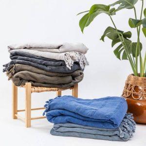 Product Image Kurios Turkish Cotton Throw Fig The Watermark Shop (3)