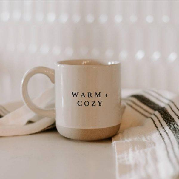 Product Image Warm + Cozy Stoneware Coffee Mug The Watermark Shop (1)